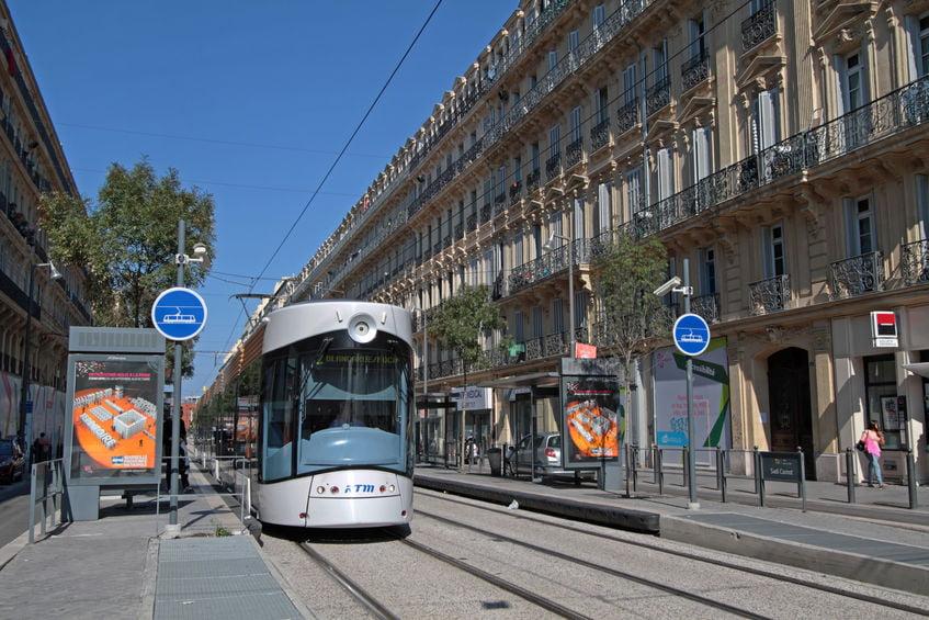 Tram à Marseille