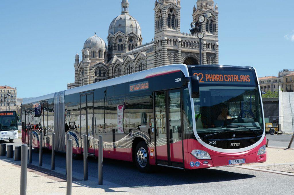 Bus de la RTM à Marseille