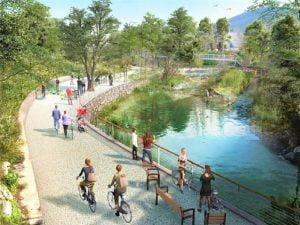 Read more about the article Un projet de voie verte au bord de l'Huveaune en 2027