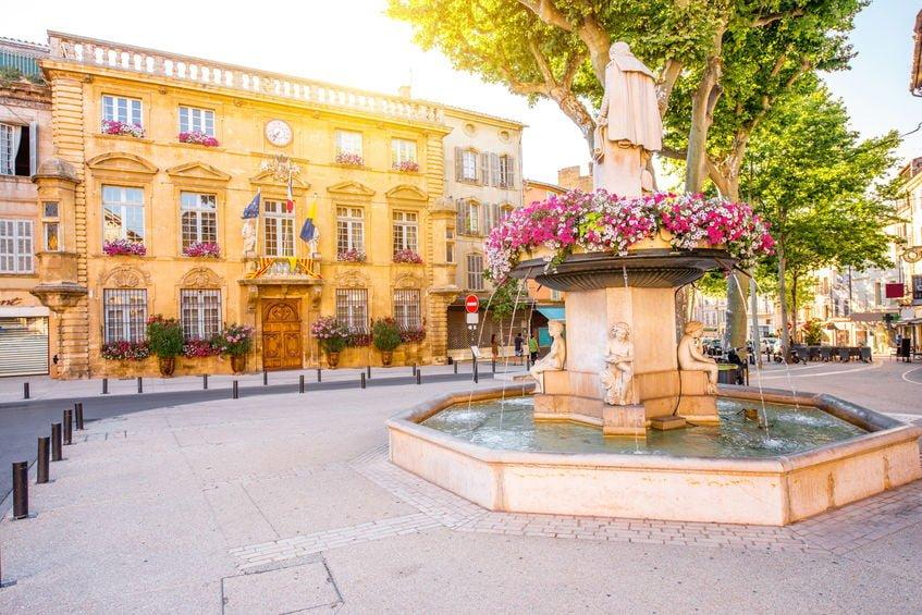La ville de Salon de Provence