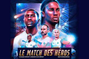 Read more about the article Tout savoir sur Le Match des Héros au Stade Vélodrome de Marseille